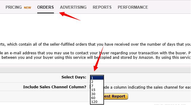 亚马逊广告报表在哪里下载